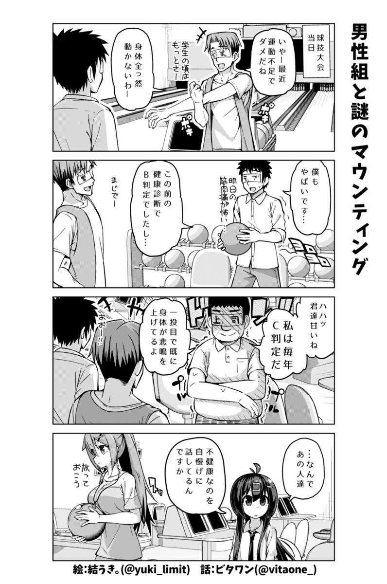 社畜ちゃん漫画 194話「男性組と謎のマウンティング」